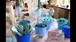 Baby Boy Shower Centerpieces by Baby Boy Shower Decorations Youtube