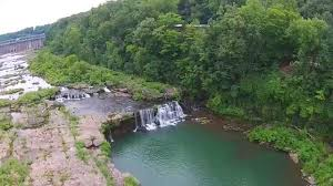 Tennessee waterfalls images Rock island tennessee great falls waterfalls from above jpg