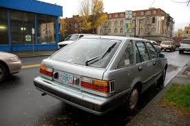 nissan stanza 2016 old parked cars 1984 nissan stanza five door hatchback wagon