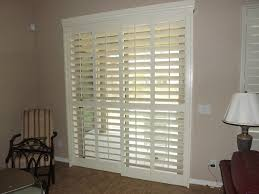 Enclosed Blinds For Sliding Glass Doors Plantation Shutters On Sliding Glass Doors Traditional Phoenix