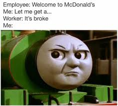 Mcdonalds Meme - dopl3r com memes employee welcome to mcdonalds me let me get a