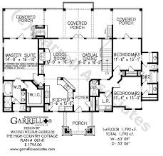 country cabins plans high country cottage house plan house plans by garrell