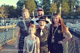 Halloween Costume Themes For Families by Flapper Halloween Costume Ideas The Polka Dot Chair