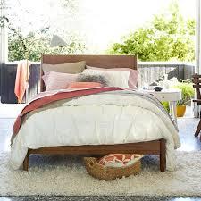 West Elm Bedroom Furniture Sale Mid Century Bed Acorn West Elm