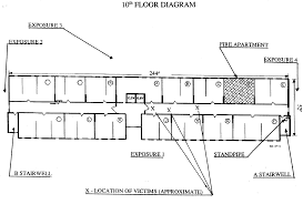 High Rise Floor Plans by Fire Fighter Fatality Investigation Report F99 01 Cdc Niosh