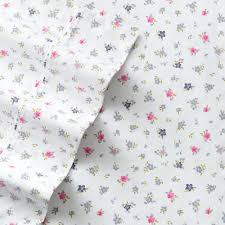 percale sheet set big one floral percale sheet set xl twin