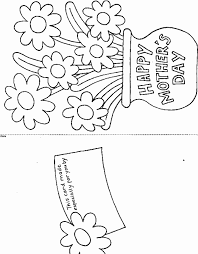 printable mothers day coloring cards many interesting cliparts
