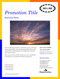 flyer templates publisher free printable flyer templates business