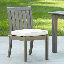 Patio Dining Chairs With Cushions Birch Patio Dining Chair With Cushion Reviews