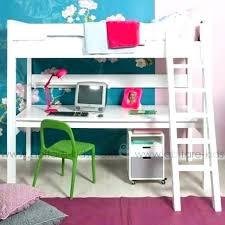 chambre combiné fille lit bureau fille un lit mezzanine pour enfant 6 ans et plus image 3