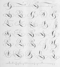 ornamental penmanship penmanship fonts and calligraphy