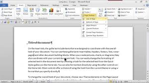 right top corner how to add page numbers in the top right corner ms word skills