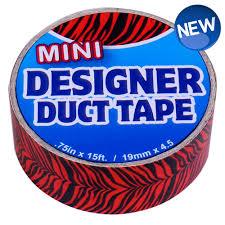 jfl enterprises stuff mini designer duct tiger stripes