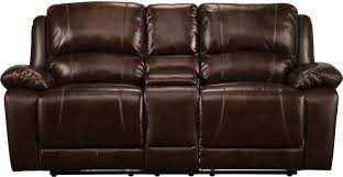 Youth Recliner Chairs Marco Genuine Leather Power Reclining Loveseat Chocolate The