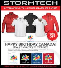 canada 150 celebration apparel kenwill marketing specialists