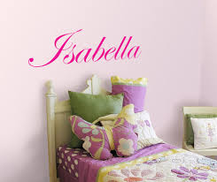 name wall decals ebay personalized girl name vinyl wall decal sticker for kids room wall art