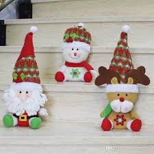 small bulk ornaments santa claus snowman elk doll
