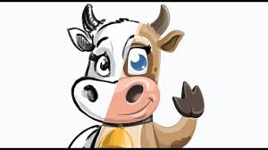 cow cartoon character colleen the gentle cow graphicmama com