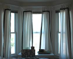 curtains bay windows wonderful square bay window curtains roman