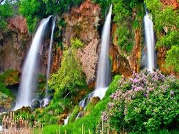 waterfalls beautiful waterfall waterwall river waterfalls purple