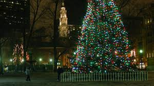 boston gets lit up tree lighting in the boston commons