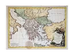 Map Of Ancient Greece Ancient Greece Albania Old Map La Greacia Philippe M U0026m