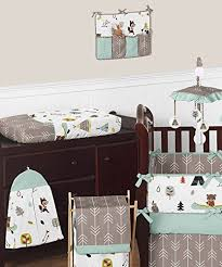Nursery Bedding Set Sweet Jojo Designs Bedding Sets Outdoor Adventure Nature Fox