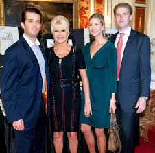 where does trump live ivana trump says she raised kids with donald u0027single handedly u0027