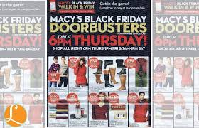 macy s black friday ad hours deals 2015living rich with coupons