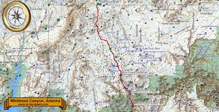 Arizona Strip Map by A Great Trip To The Grand Canyon And Whitmore Canyon In The Desert