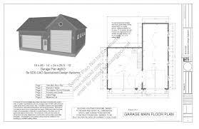 apartments plans garage garage plans sds living quarters