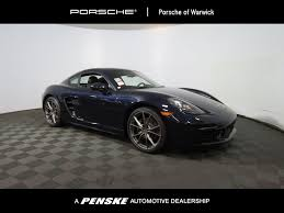 2018 new porsche 718 cayman coupe at porsche monmouth serving new