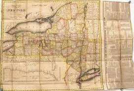 Map Of The State Of New York by Jasper52 Auction Maps Birth Of A Nation Dec 11