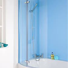 curved shower panel mobroi com ella curved p bath screen