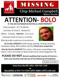 chip campbell missing since 8 march 2016
