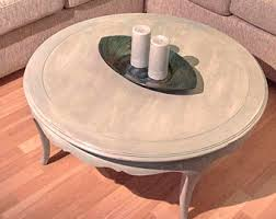 Solid Wood Coffee Tables Round Coffee Table Etsy