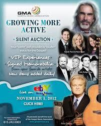 silent auction on ebay for gma gospel music association nqc