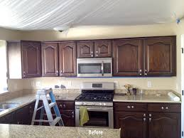 Before And After Kitchen Cabinet Painting Gallery Allen Brothers Cabinet Painting
