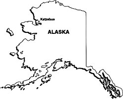Alaska Map by Alaska Map Coloring Wecoloringpage