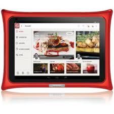tablette de cuisine qooq qooq v4 tablette android boulanger