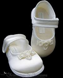 Wedding Shoes Ivory Toddler Girls Christening Flowergirl Wedding Shoes In Ivory