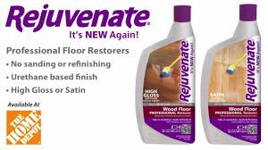 rejuvenate professional floor restorer gloss satin finish