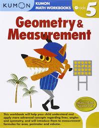 geometry u0026 measurement kumon math workbooks grade 5 kumon