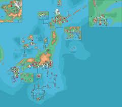 Sinnoh Map Pokemon World Wip By Linkmaster101 On Deviantart