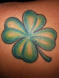 four leaf clover tattoo picture