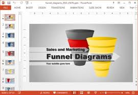 animated funnel diagrams powerpoint template