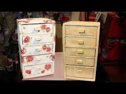 5963 diy gaveteiro para materiai de trabalho ou porta joias