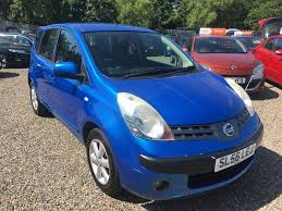 used nissan note se for sale motors co uk