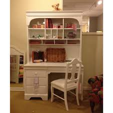 Secretary Desk With Hutch For Sale by Furniture White Secretary Desk With Hutch With Oak Parsons Chair