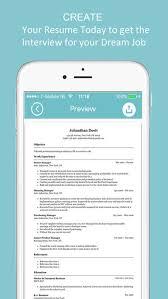 Resume Builder App Resume Builder Cv Designer On The App Store